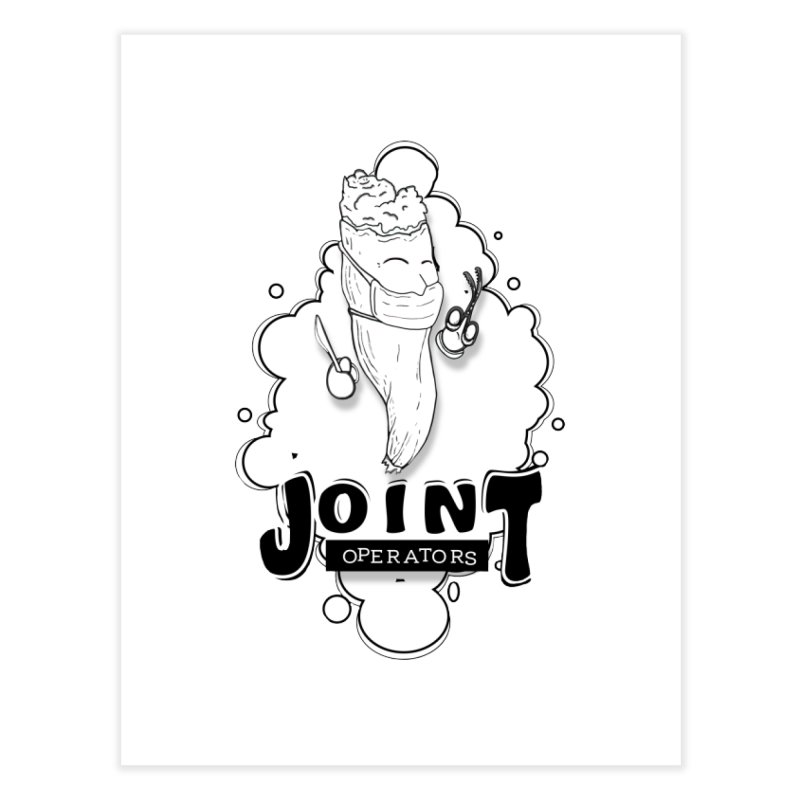 Joint Operator's Home Fine Art Print by MD Design Labs's Artist Shop