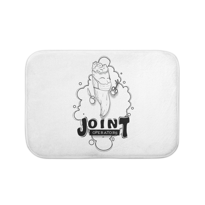 Joint Operator's Home Bath Mat by MD Design Labs's Artist Shop