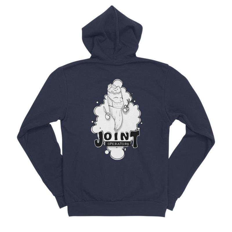 Joint Operator's Men's Sponge Fleece Zip-Up Hoody by MD Design Labs's Artist Shop