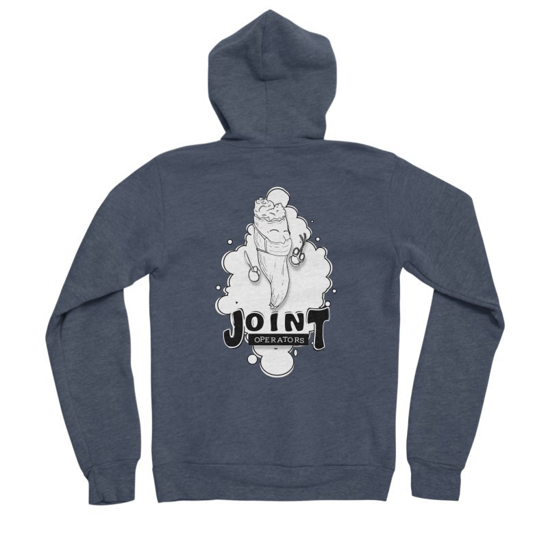 Joint Operator's Women's Sponge Fleece Zip-Up Hoody by MD Design Labs's Artist Shop