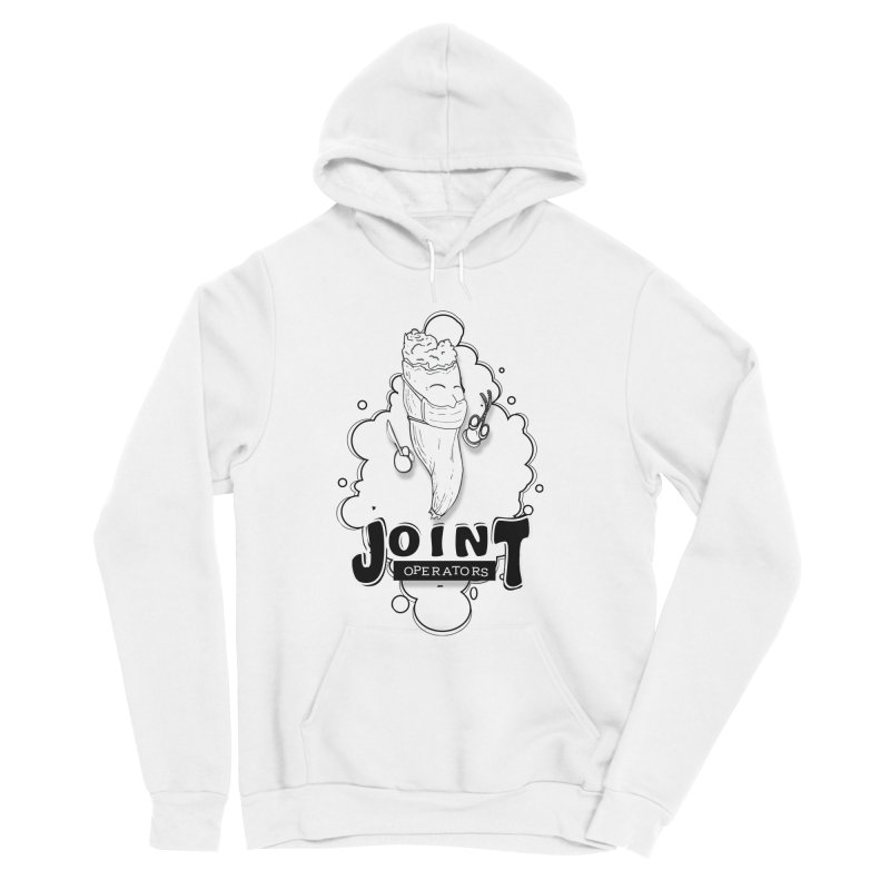 Joint Operator's Women's Sponge Fleece Pullover Hoody by MD Design Labs's Artist Shop