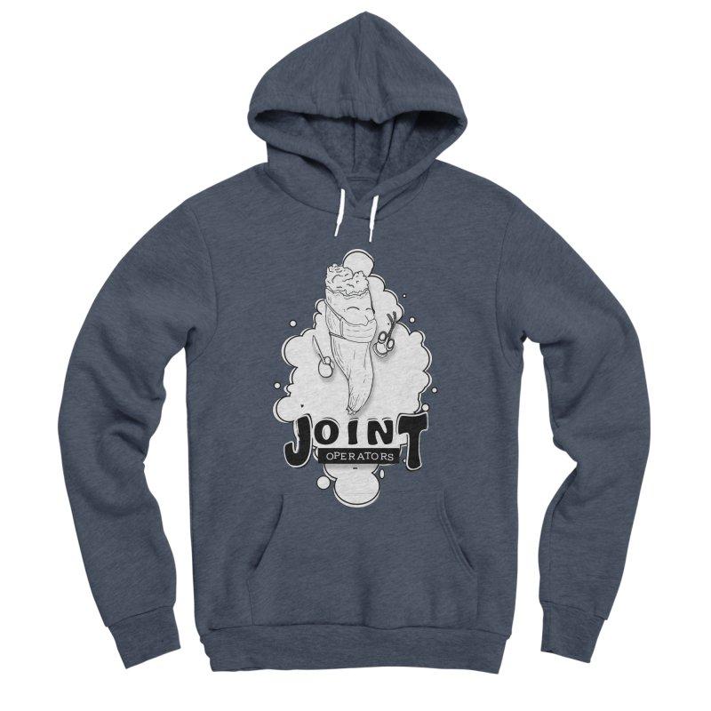 Joint Operator's Men's Sponge Fleece Pullover Hoody by MD Design Labs's Artist Shop