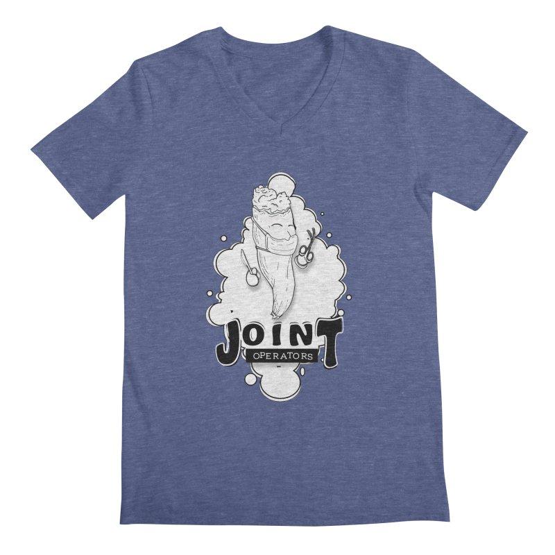 Joint Operator's Men's Regular V-Neck by MD Design Labs's Artist Shop