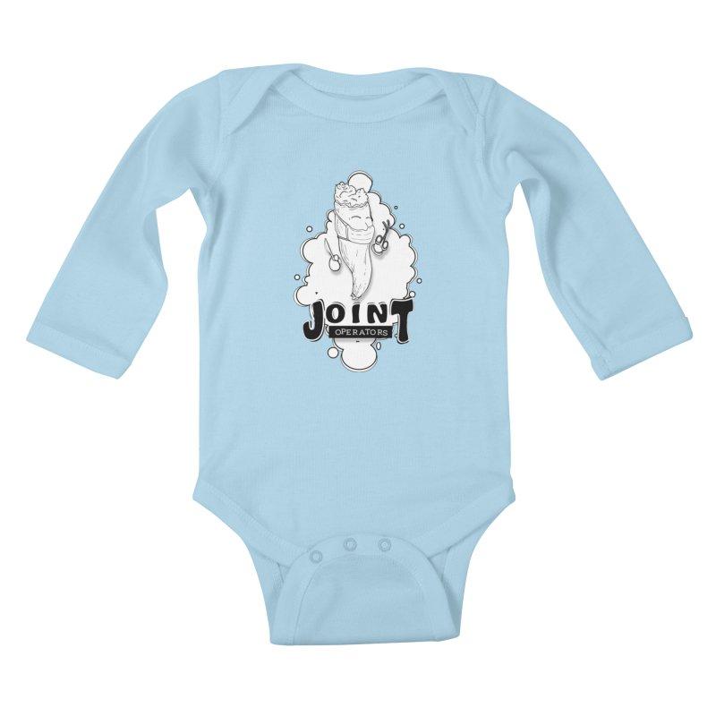 Joint Operator's Kids Baby Longsleeve Bodysuit by MD Design Labs's Artist Shop