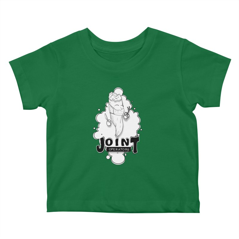 Joint Operator's Kids Baby T-Shirt by MD Design Labs's Artist Shop