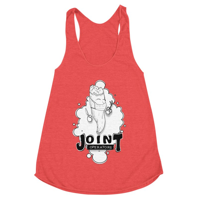 Joint Operator's Women's Racerback Triblend Tank by MD Design Labs's Artist Shop