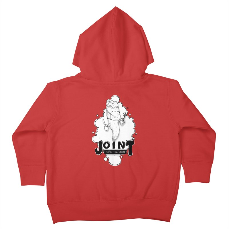 Joint Operator's Kids Toddler Zip-Up Hoody by MD Design Labs's Artist Shop
