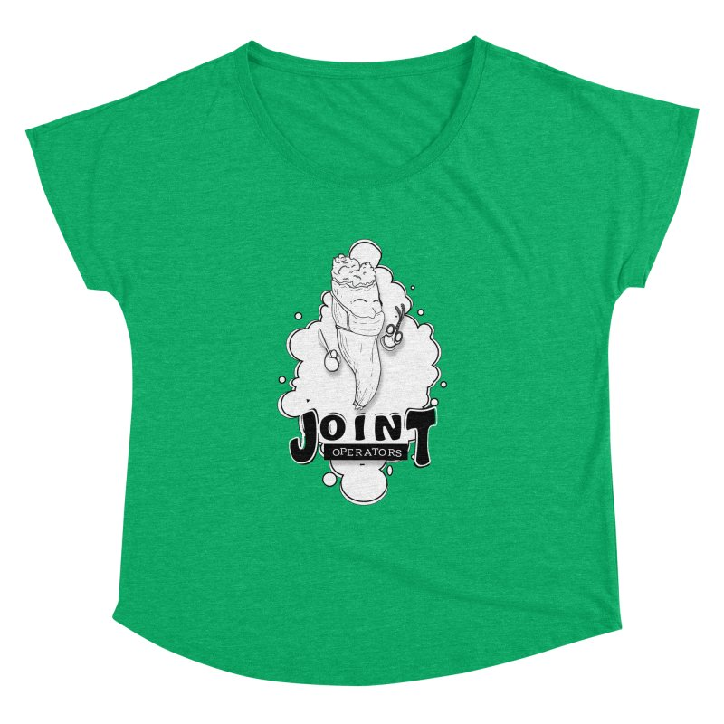Joint Operator's Women's Dolman Scoop Neck by MD Design Labs's Artist Shop