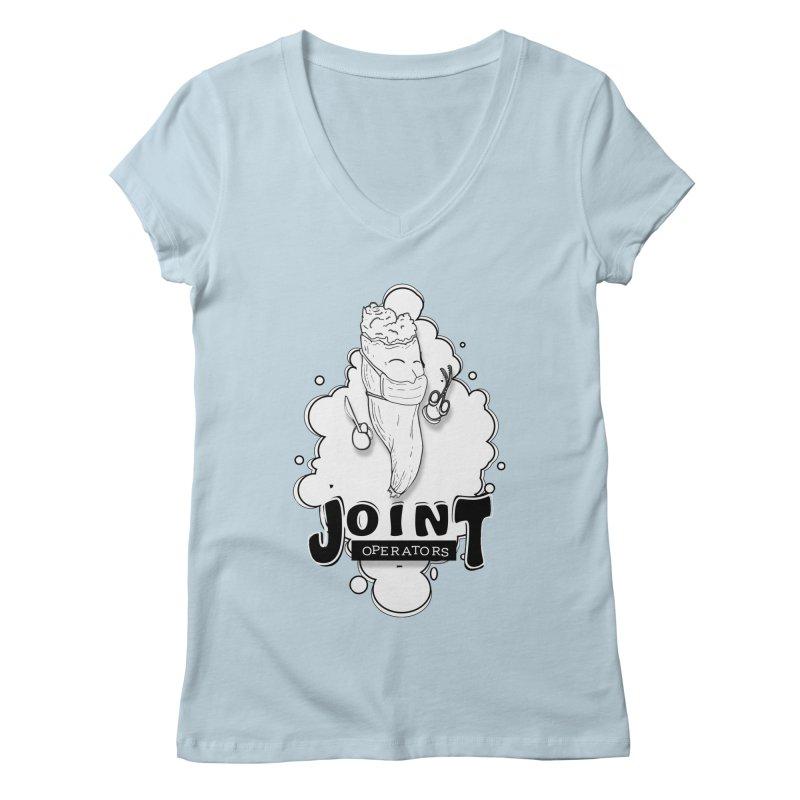 Joint Operator's Women's Regular V-Neck by MD Design Labs's Artist Shop