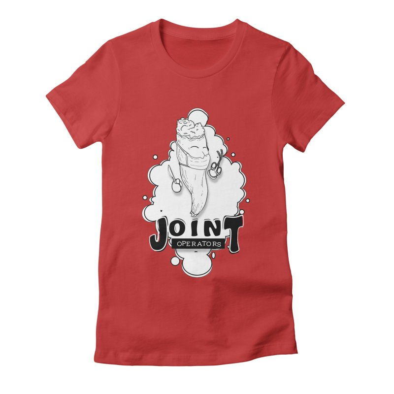 Joint Operator's Women's Fitted T-Shirt by MD Design Labs's Artist Shop