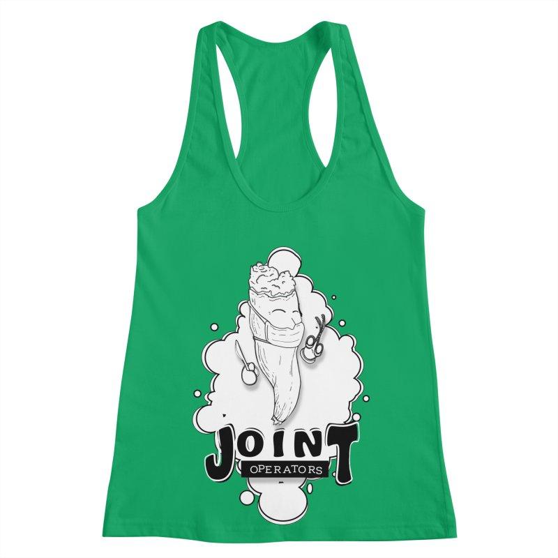 Joint Operator's Women's Racerback Tank by MD Design Labs's Artist Shop
