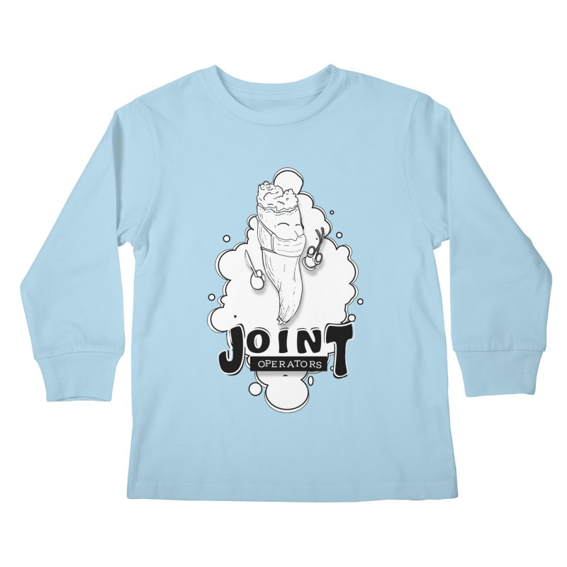 Joint Operator's Kids Longsleeve T-Shirt by MD Design Labs's Artist Shop