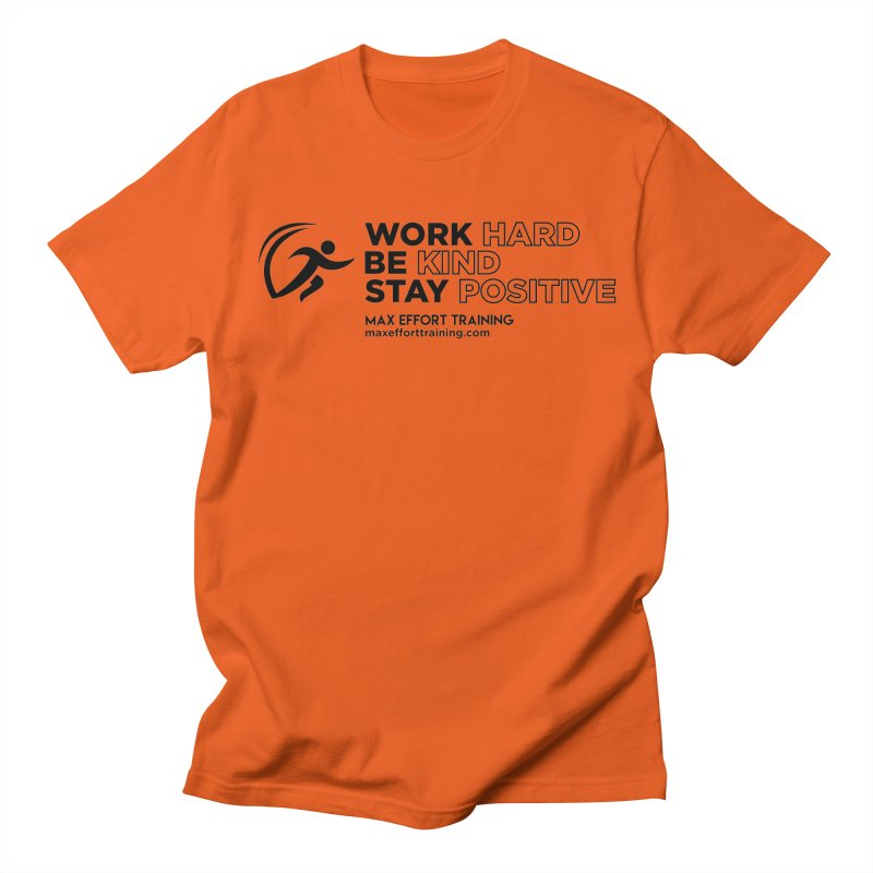 Work Hard/Be Kind (update) Women's T-Shirt by Max Effort Training
