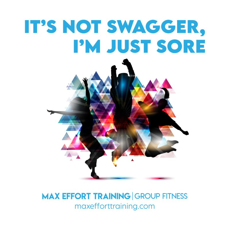 Swagger Accessories Sticker by Max Effort Training