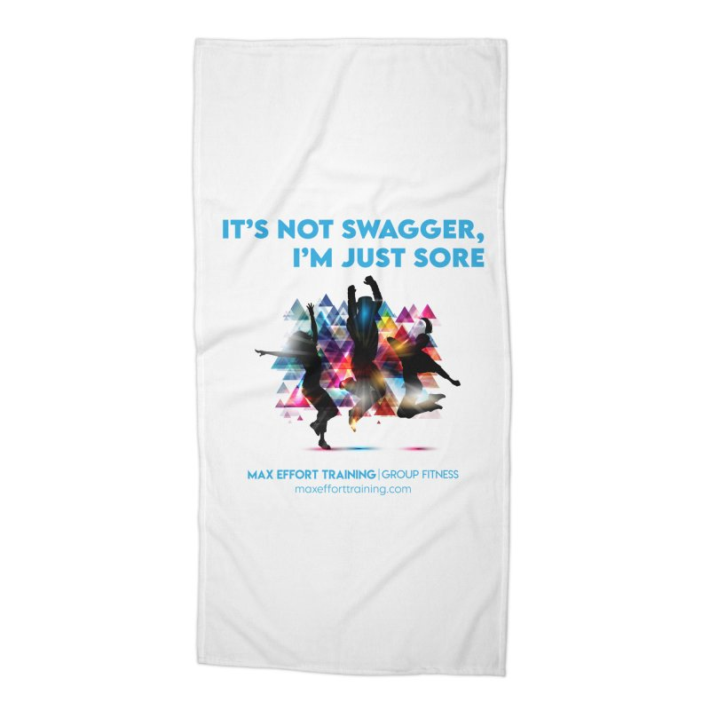 Swagger Accessories Beach Towel by Max Effort Training