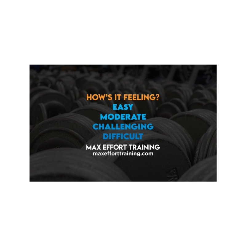 How's It Feeling? Accessories Face Mask by Max Effort Training