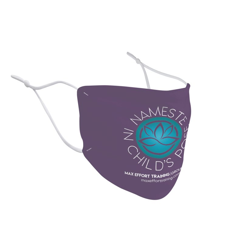 Namaste in Child's Pose Accessories Face Mask by Max Effort Training