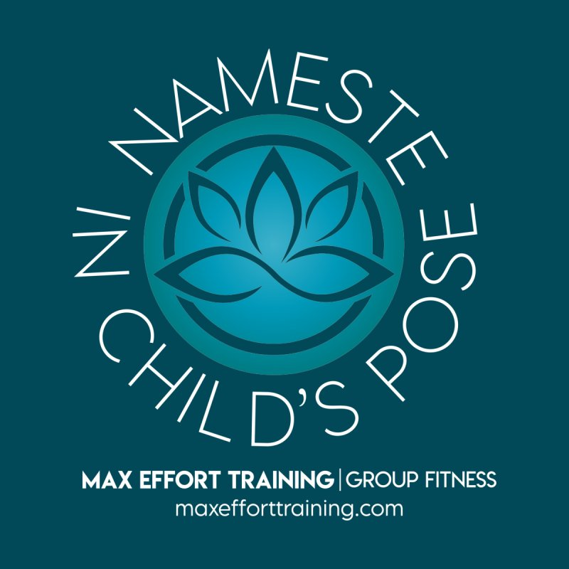 Namaste in Child's Pose Accessories Magnet by Max Effort Training