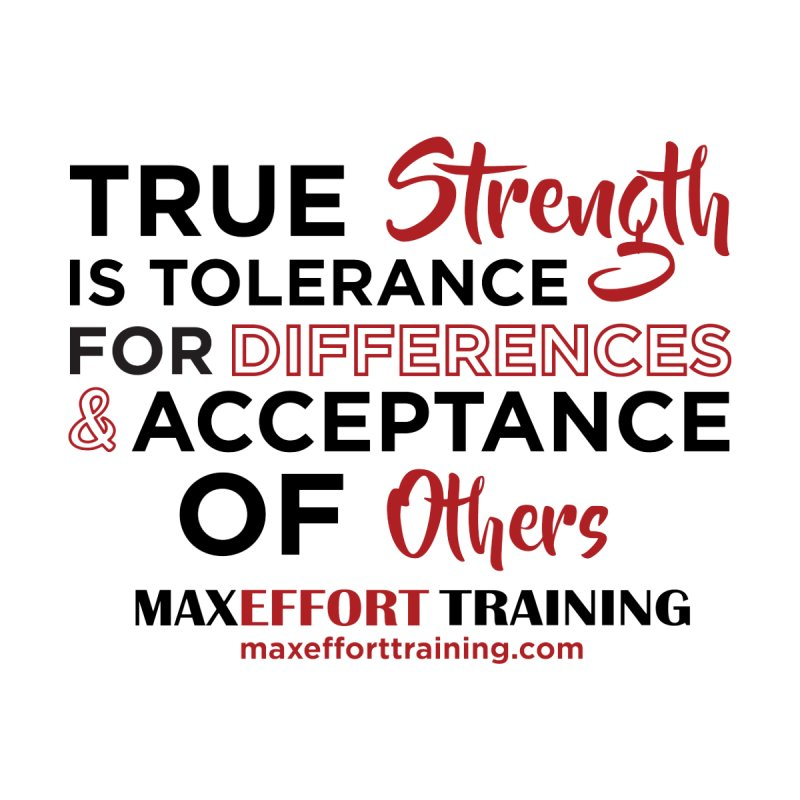 True Strength Kids T-Shirt by Max Effort Training