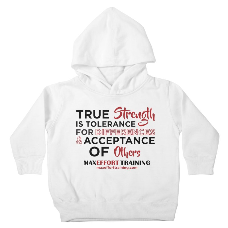 True Strength Kids Toddler Pullover Hoody by Max Effort Training