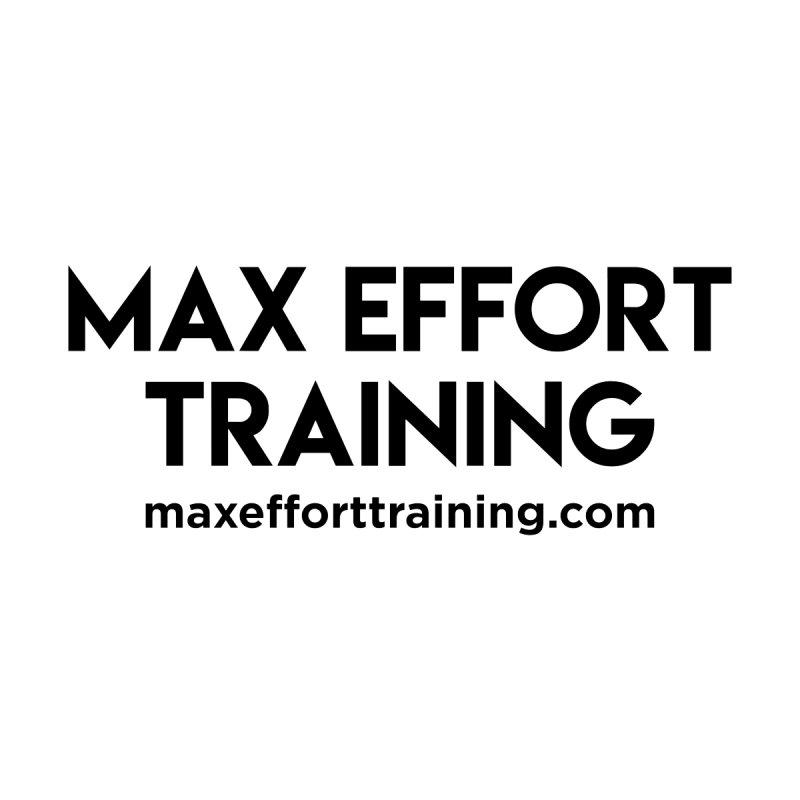 Max Effort Training Women's Pullover Hoody by Max Effort Training
