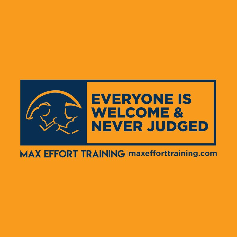 Everyone Is Welcome Women's Pullover Hoody by Max Effort Training