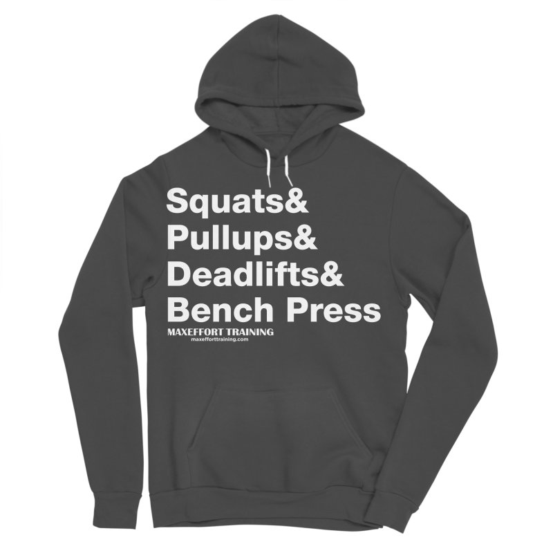Squats And... Women's Sponge Fleece Pullover Hoody by Max Effort Training