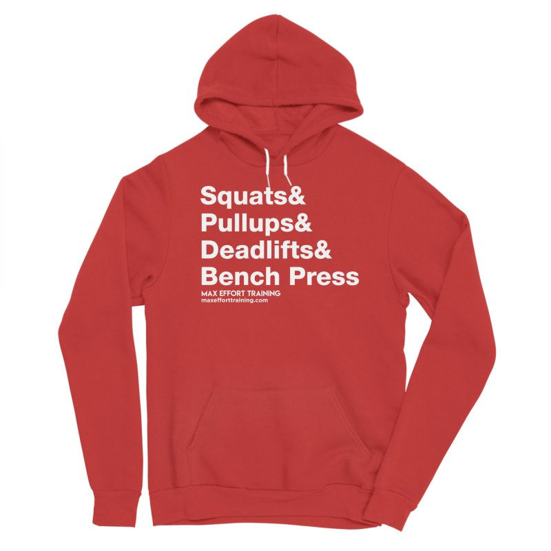 Squats And... Women's Pullover Hoody by Max Effort Training