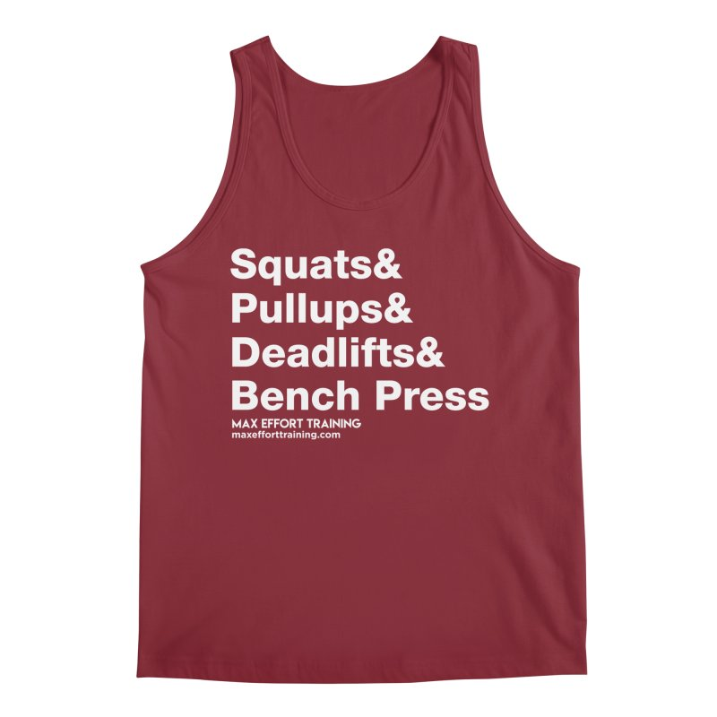 Squats And... Men's Tank by Max Effort Training