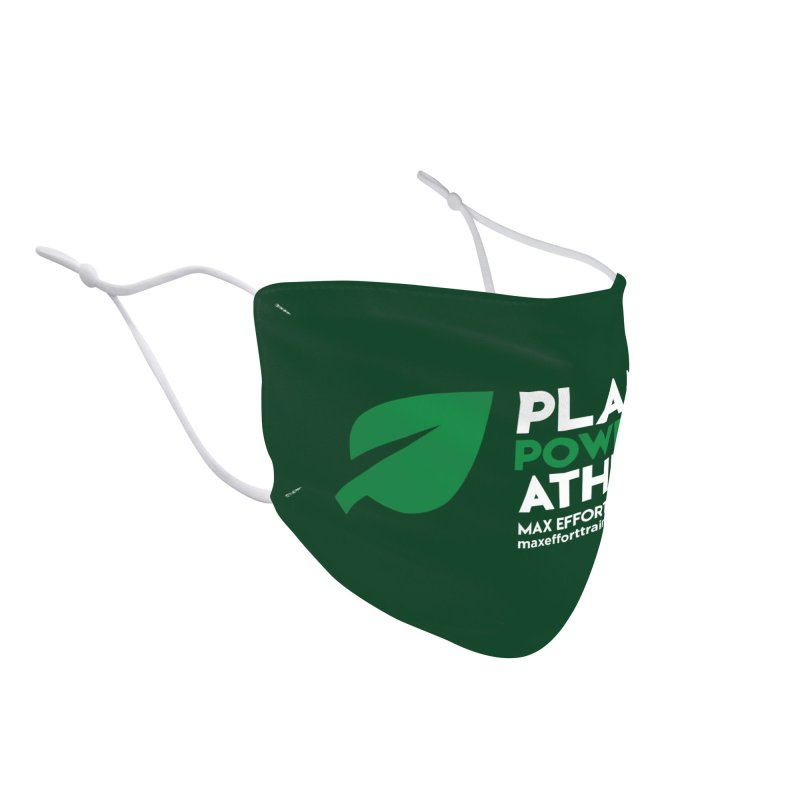 Plant Powered Athlete Accessories Face Mask by Max Effort Training
