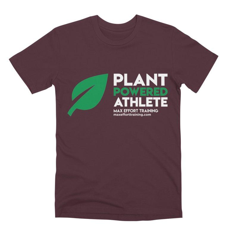 Plant Powered Athlete Men's Premium T-Shirt by Max Effort Training