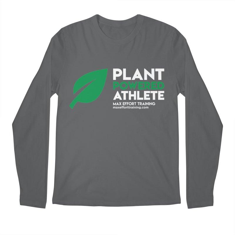 Plant Powered Athlete Men's Longsleeve T-Shirt by Max Effort Training
