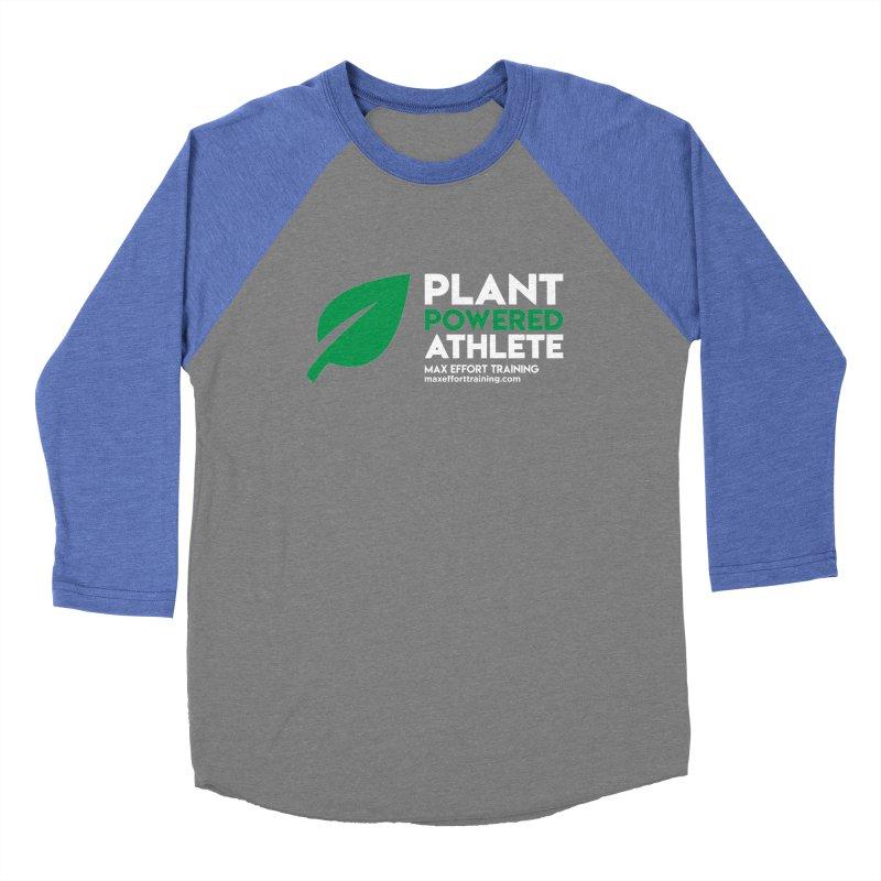 Plant Powered Athlete Women's Longsleeve T-Shirt by Max Effort Training