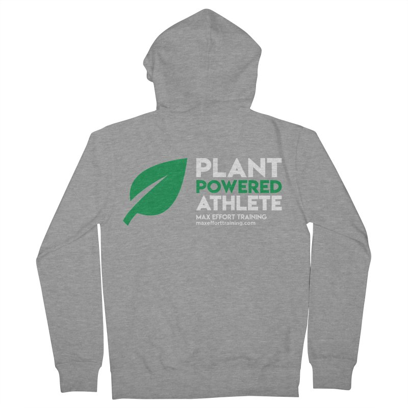 Plant Powered Athlete Women's French Terry Zip-Up Hoody by Max Effort Training