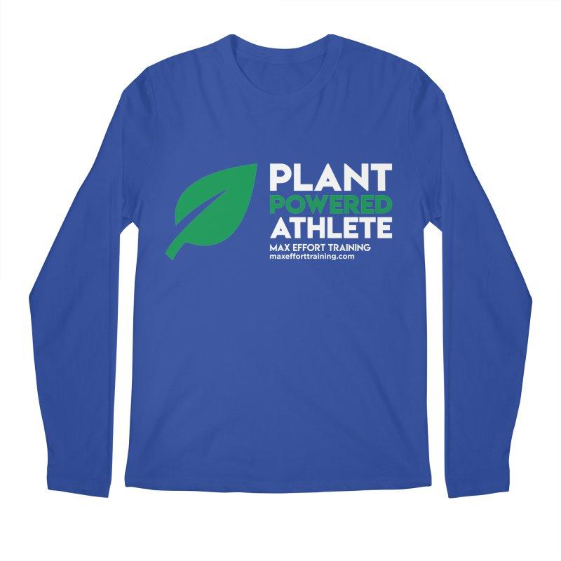 Plant Powered Athlete Men's Regular Longsleeve T-Shirt by Max Effort Training