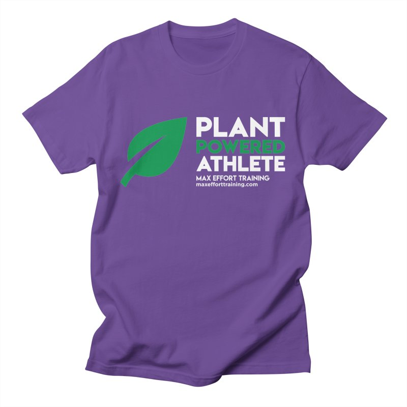 Plant Powered Athlete Women's Regular Unisex T-Shirt by Max Effort Training