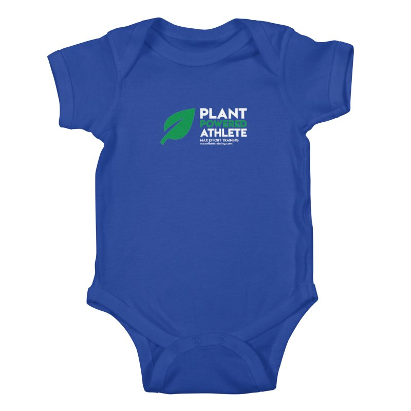 Plant Powered Athlete Kids Baby Bodysuit by Max Effort Training