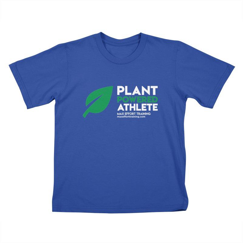 Plant Powered Athlete Kids T-Shirt by Max Effort Training