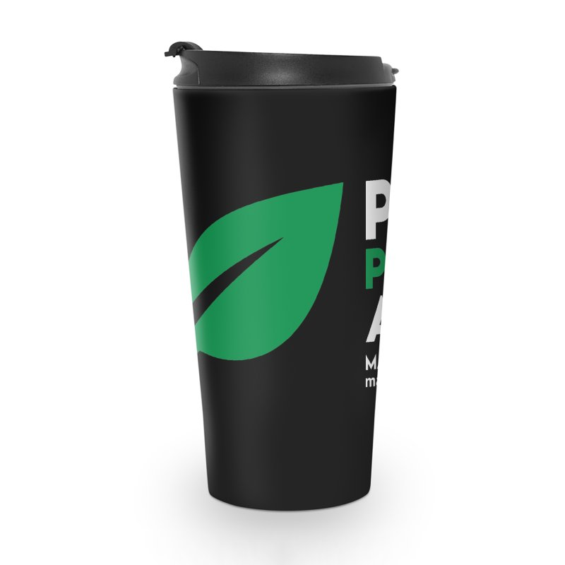 Plant Powered Athlete Accessories Travel Mug by Max Effort Training