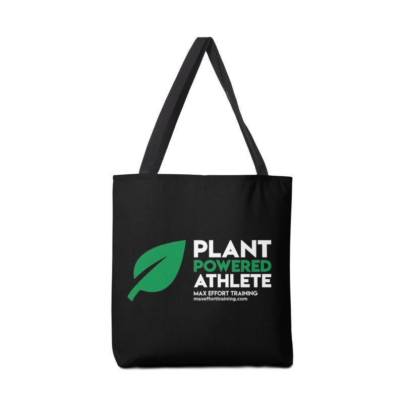 Plant Powered Athlete Accessories Tote Bag Bag by Max Effort Training