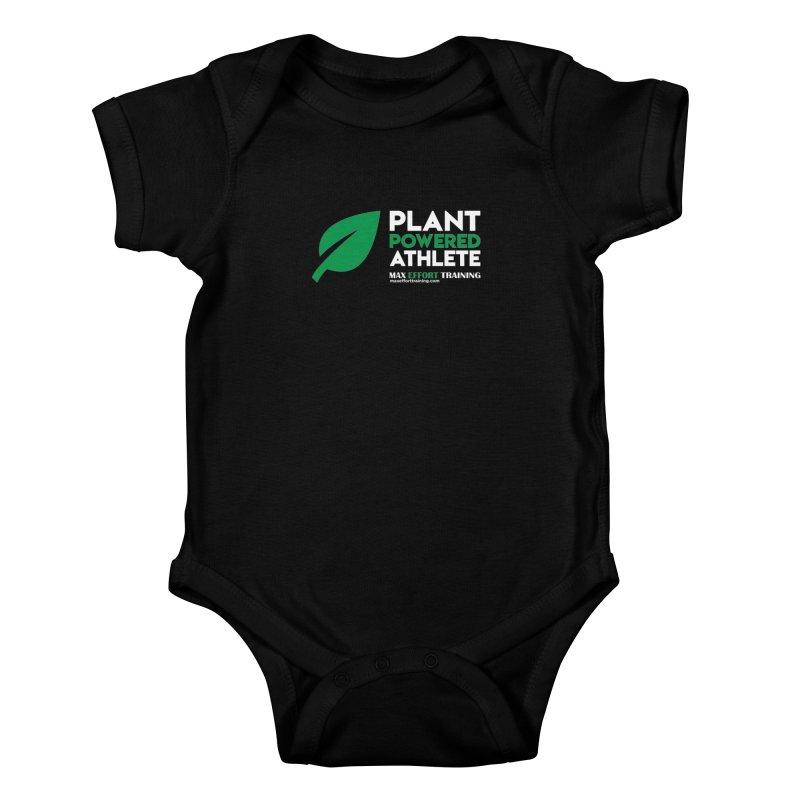 Plant Powered Athlete Kids Baby Bodysuit by Max Effort Training