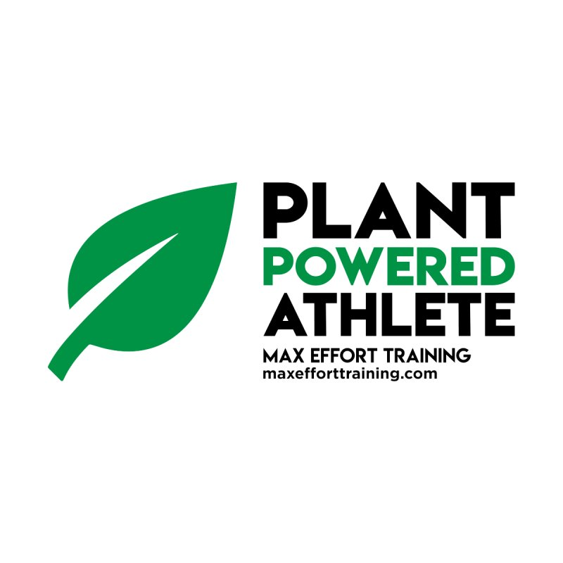 Plant Powered Athlete - Black Accessories Mug by Max Effort Training