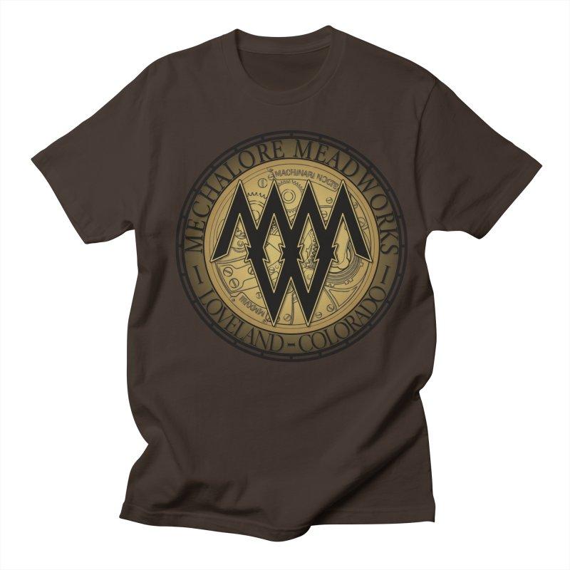MMW Logo Gear Men's Regular T-Shirt by MMW's Artist Shop