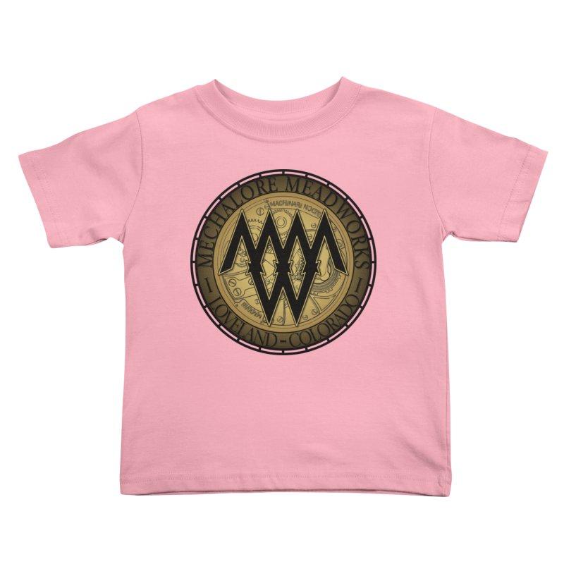 MMW Logo Gear Kids Toddler T-Shirt by MMW's Artist Shop