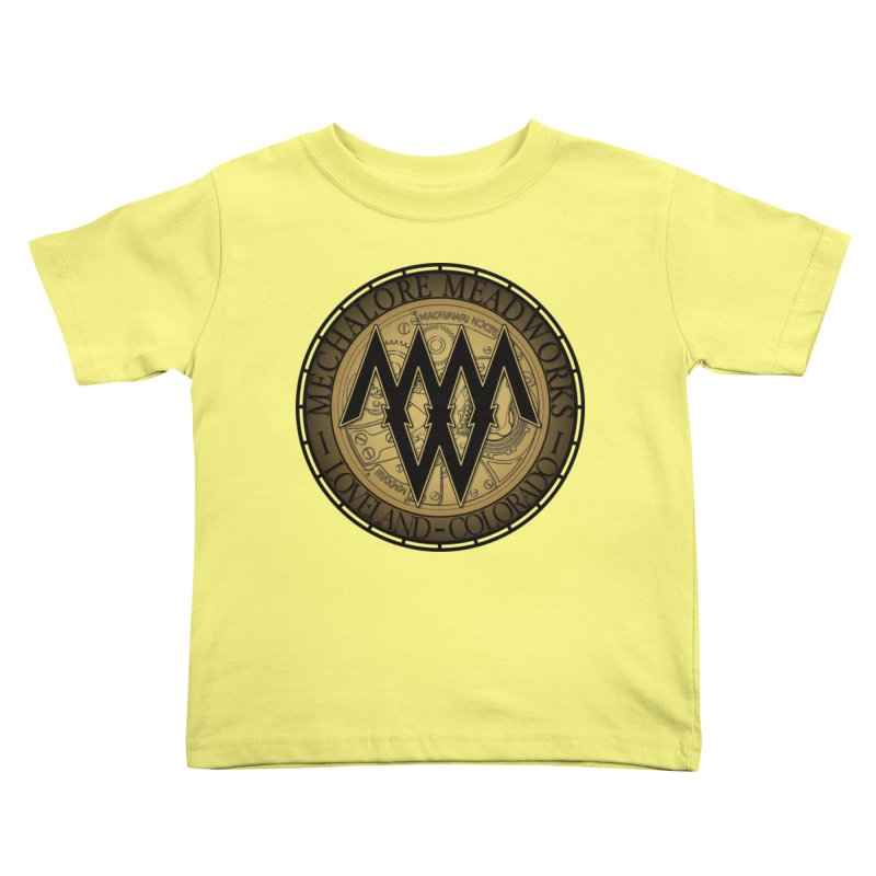 MMW Logo Gear Kids Toddler T-Shirt by MMW's Artist Shop