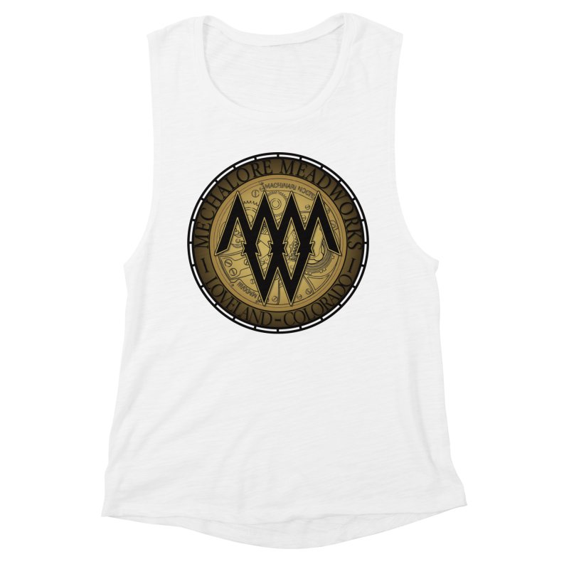MMW Logo Gear Women's Muscle Tank by MMW's Artist Shop