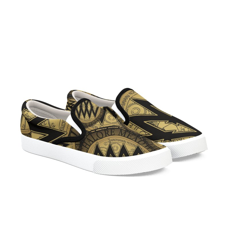 MMW Classic Logo Shoes in Men's Slip-On Shoes by MMW's Artist Shop
