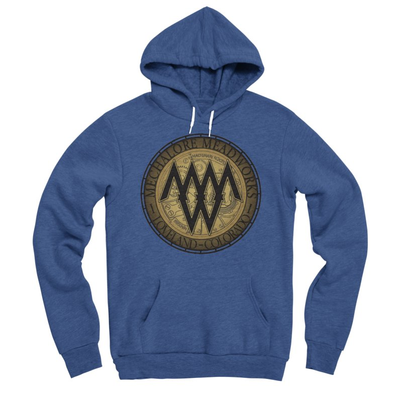 MMW Classic Logo - Cold Weather Gear Men's Sponge Fleece Pullover Hoody by MMW's Artist Shop