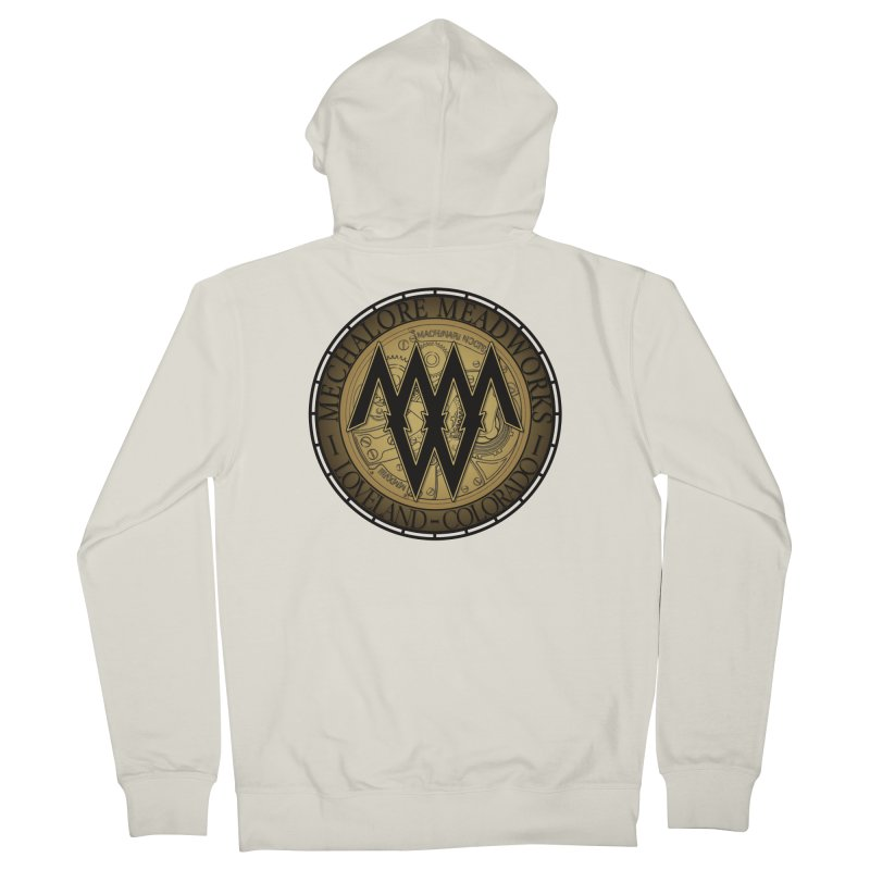 MMW Classic Logo - Cold Weather Gear Women's French Terry Zip-Up Hoody by MMW's Artist Shop
