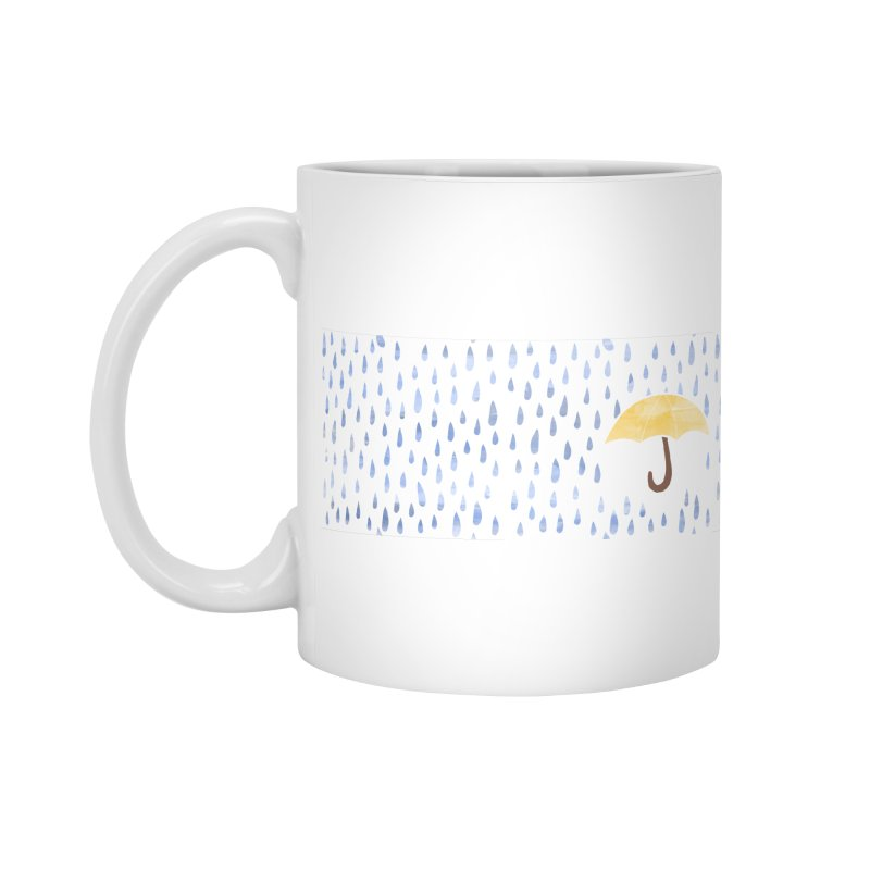 Rainy Day Accessories Mug by MMXVII Designs